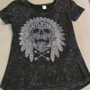 Womens affliction shirt